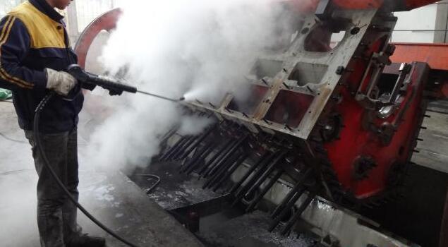 油污清洗蒸汽发生器