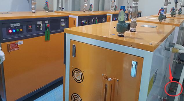 电加热蒸汽发生器排污管道安装